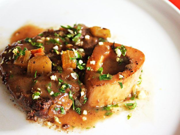Slow Cooker Beef Shank Osso Buco With Lemon-Parsley Gremolata
