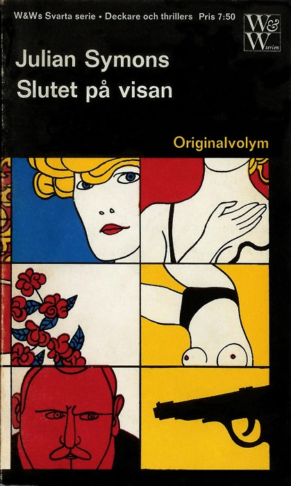 Julian Symons's The End of Solomon Grundy, designed by Per Åhlin.