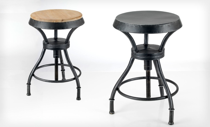 1000 Images About Iron Barstools On Pinterest