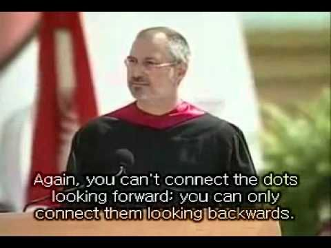 ▶ Stay hungry...Stat foolish. Amazing Steve Jobs Speech at Stanford with english subtitles - YouTube