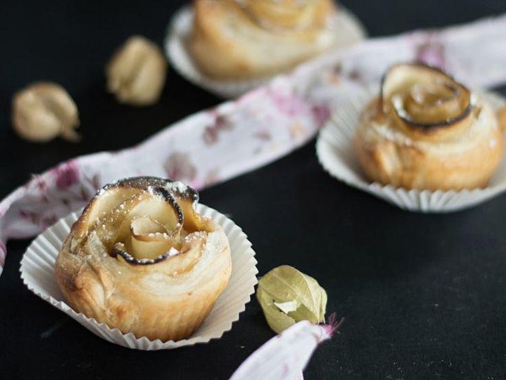 DIY tutorial: Appel-karamel-roosjes bakken via DaWanda.com