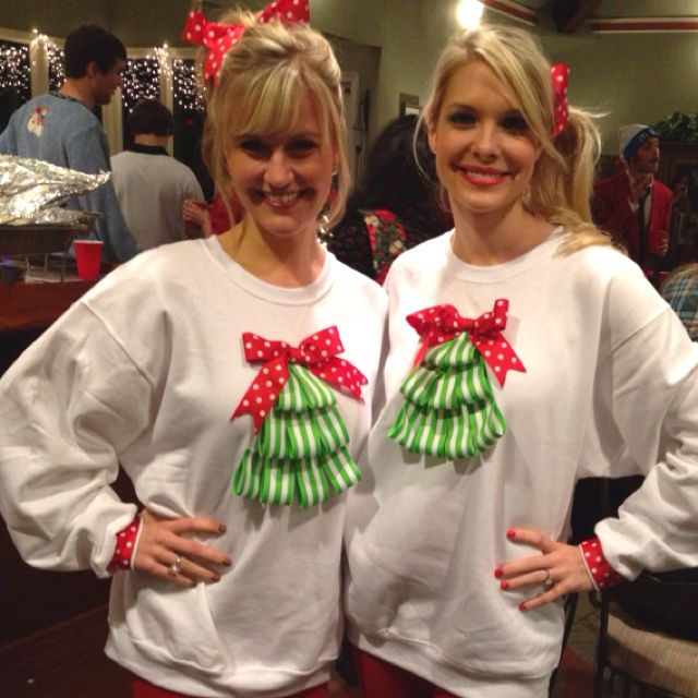 Ugly Christmas Sweater Craft Ideas Part - 20: DIY Ugly Christmas Sweater
