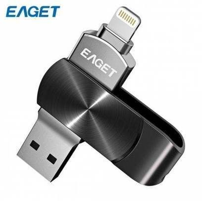 Free shipping [98% OFF] 2019 EAGET i66 USB Flash Drive Type-C USB3.0 OTG Rotary Design Memory Stick for iPhone 7 Plus / 7 / SE / 6S Plus / 6S / 6 / 5S / 5C / 5 in BLACK 128GB with only $1.99 online and shop other cheap Smart Home Products on sale at DressLily.