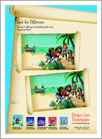 Pirates Love Underpants Activity Pack form Scholastic