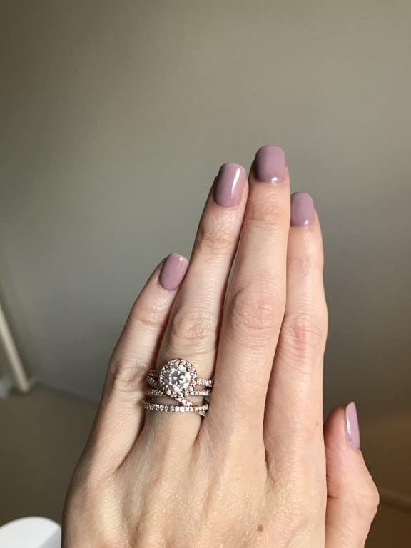 18k White Gold Entwined Bisou Diamond Ring 1 2 Ct Tw Cheap Engagement Rings Gold Diamond Wedding Band Cheap Diamond Rings