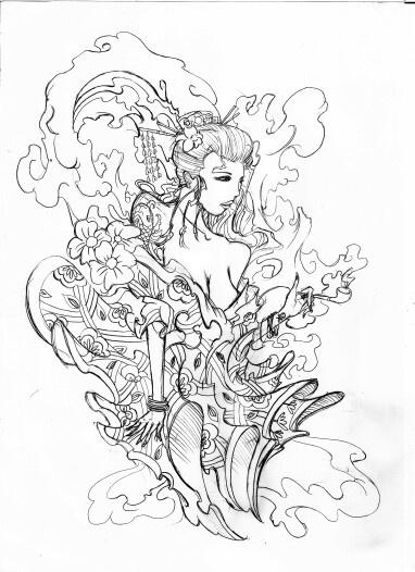 Tattoo Drawings Stencils Tattooart Designs