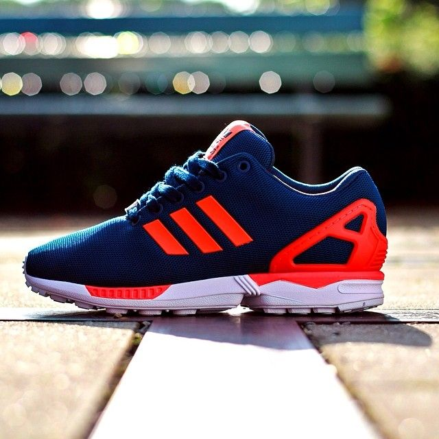Adidas Zx Flux Lightning Blue