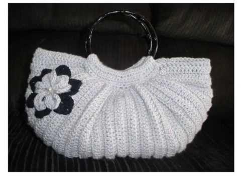 #Crochet Splatter Stitch Handbag Purse with Hand Sewn Liner #TUTORIAL - YouTube
