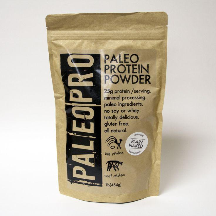 PaleoPro Paleo Protein Powder Plain Naked - 1 Pound