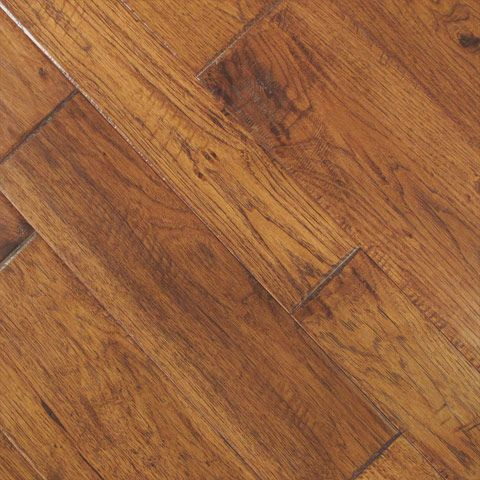 Johnson Hardwood Tuscan Hickory Handscraped flooring