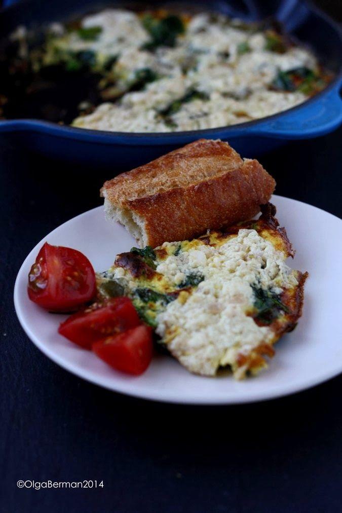 amp tomato i dream of spring crazy feta asparagus amp pea frittata ...