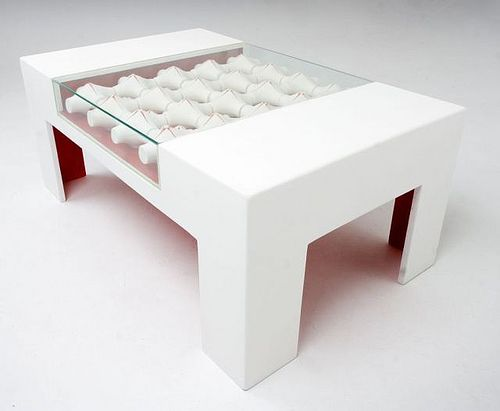 Cofee Table with ceramic elements