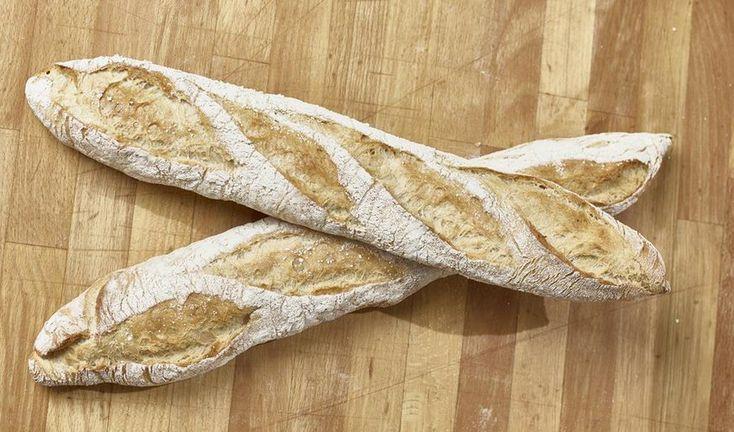 Recept Frans stokbrood met verse zelf gemalen bloem (gezift meel)