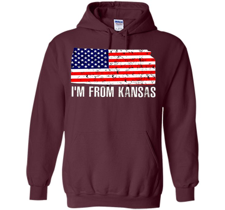 Proud of Kansa-US flag Independence day Tshirt