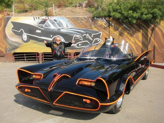 Original 1966 Batmobile! - Designer George Barris