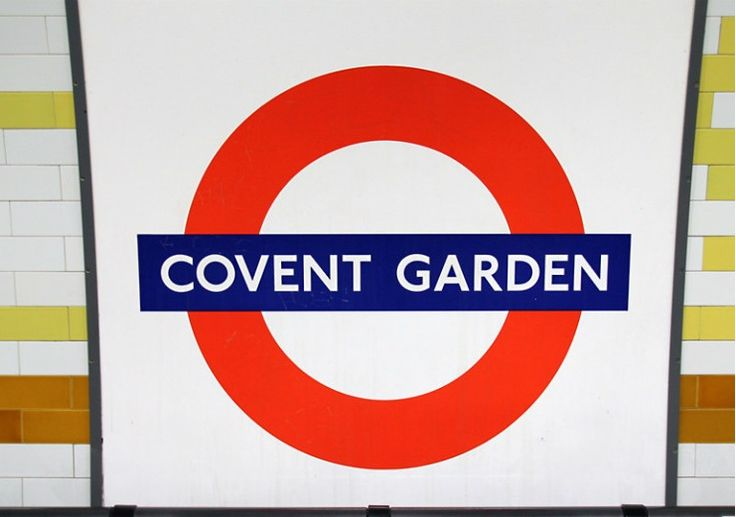 Covent Garden London Underground Station in London, Greater London