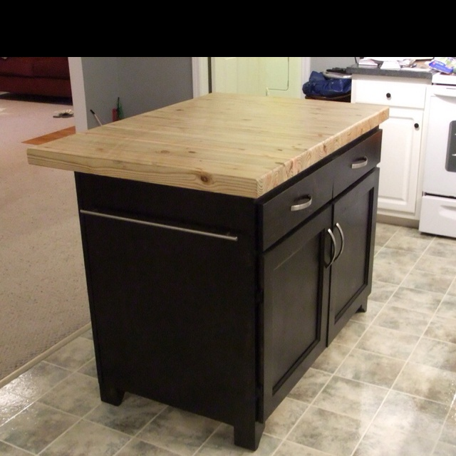 custom made kitchen island house remodel pinterest