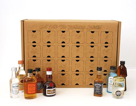 Diy Advent Calendar Liquor Not Included Whether You Call Them
