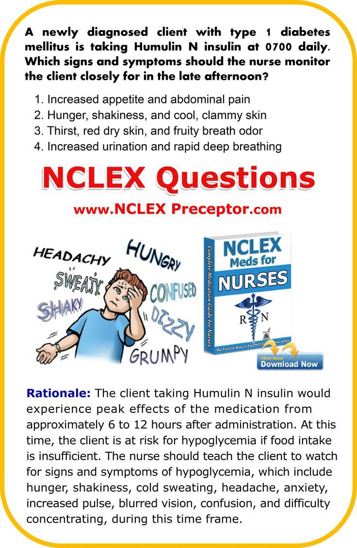 Diabetes Mellitus Pharmacology Medications NCLEX Nursing