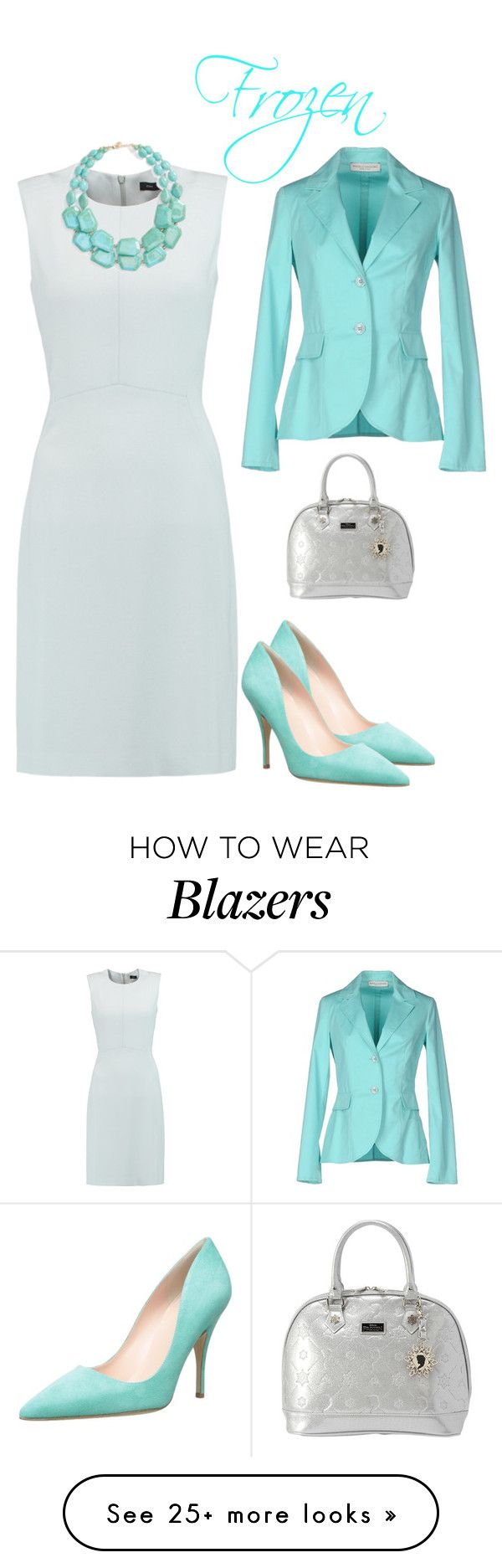 """""""frozen"""" by paula-parker on Polyvore featuring Joseph, Natasha Couture, Marcello Sangiorgi, Loungefly and Kate Spade"""