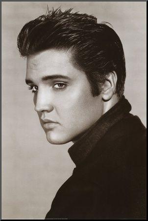 Elvis Presley - Mounted Print