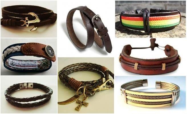 Resultado de imagem para pulseiras masculinas