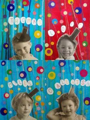 Somnis de Colors: Tapes d'àlbum amb fotos