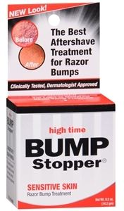 Bump Stopper Razor Bump Treatment - Concentrated Formula This concentrated cream formula is for bumps and ingrown  hairs caused by shaving with razors, electric shavers and depilatories. - at drugstore.com