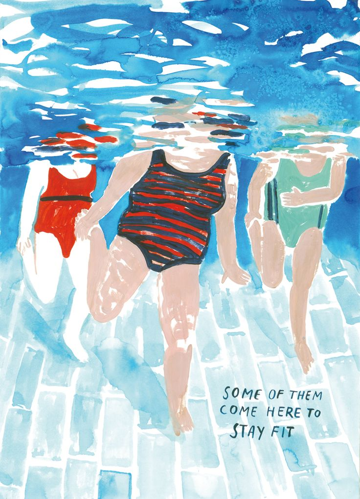 """Excerpt from Anna Vaivare's mini kuš! """"Swimming Pool"""". Coming soon, find out more on our blog!"""