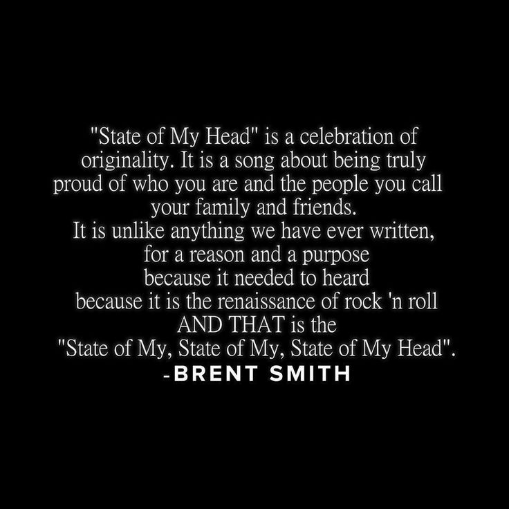 #Repost @shinedown: StateofMyHead You must take full control of your artistry... Growth is imperative at all times. There are no limits only walls that must be broken down... #BrentSmith #Shinedown