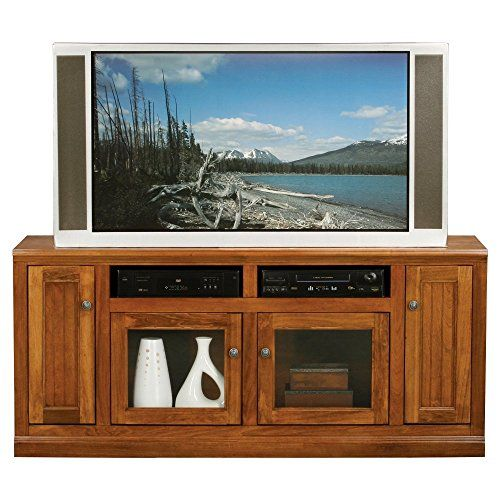 Eagle Furniture Coastal 66 in Plain Glass Entertainment Center -- For more information, visit image link.