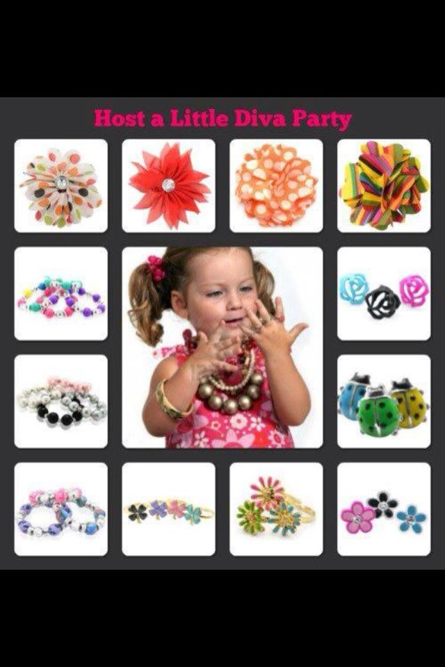Paparazzi is also for the little divas! Host a Little Diva Party for your Cutie Pie! www.paparazziaccessories.com/18254