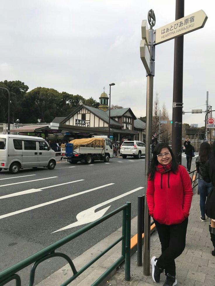A cross Harajuku station