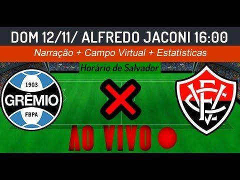 Assistir Grêmio x Vitória ao vivo