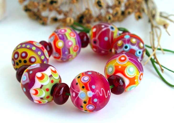 angelika kaufmann lampwork beads