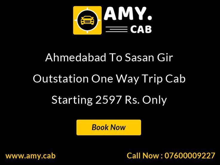 Ahmedabad To Sasan Gir Taxi, Cab Hire, Car Rental, Car Hire - Call To Amy Cab - 07600009227