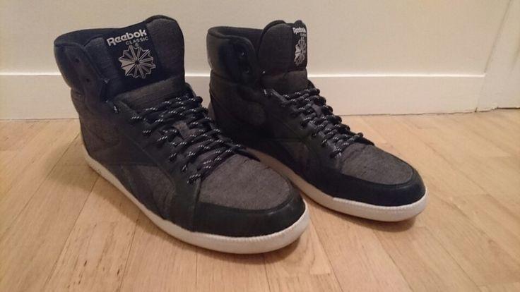 Baskets Reebok hommes gris et noir
