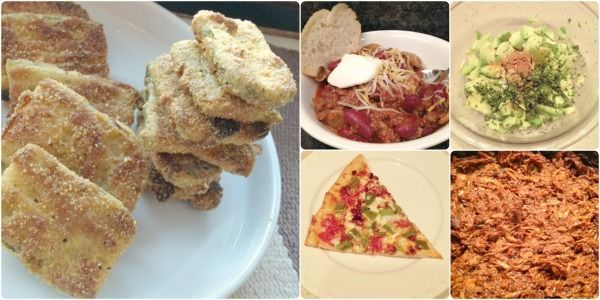 What to Eat Thursday -- Super Bowl 2014 edition! Fried pickles, pizza, chili, guacamole, and BBQ pork...