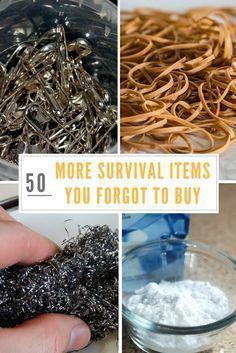 50 MORE Survival Items You Forgot to Buy #preppersurvivaldiy
