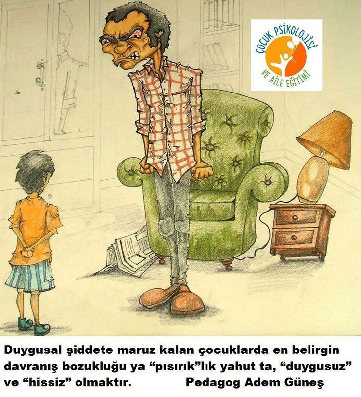 Duygusal şiddete maruz kalan çocuklar.. pedagog Adem Güneş