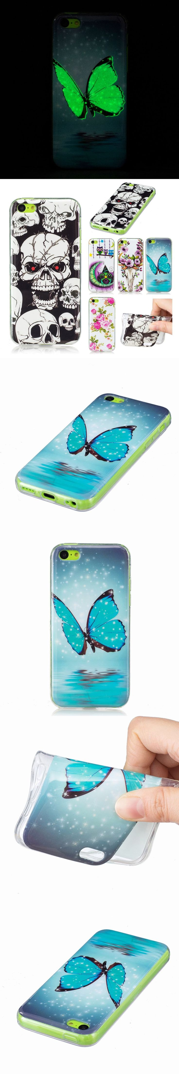 For Coque iphone 5c case silicone transparent TPU cover apple iphone 5c phone cover For iphone 5c soft ultra thin back cases