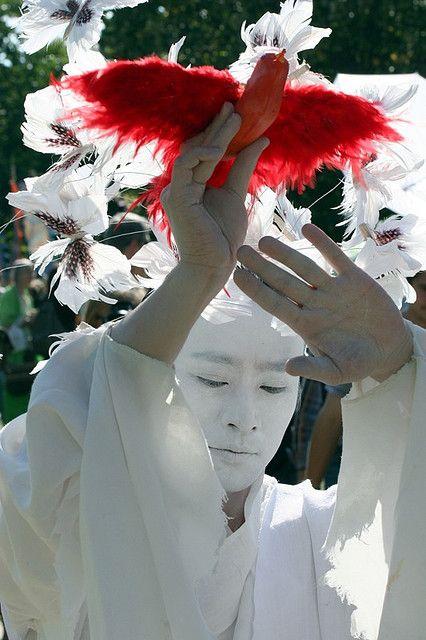 Peace - Korean Dancer at the Mayor of London's Thames River Festival 2007