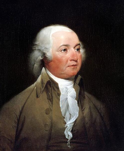 John Adams; segundo presidente de USA (1797-1801).