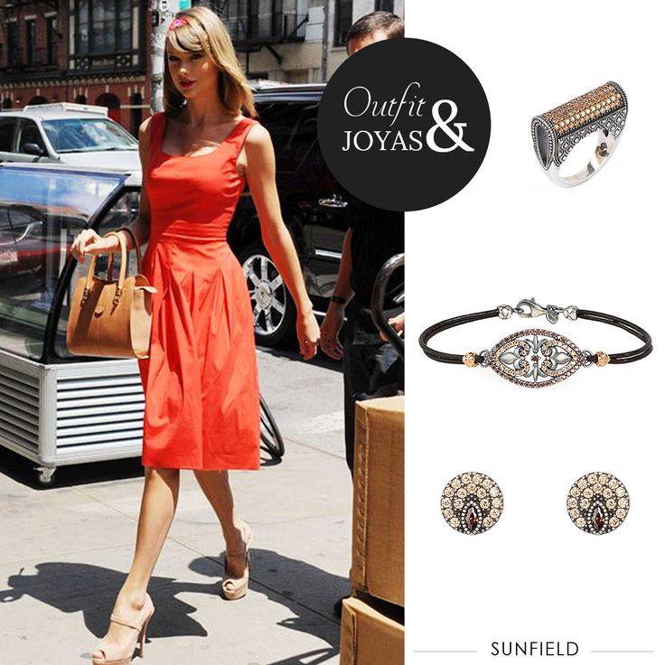 #Outfit & #Joyas #Sunfield #TaylorSwift