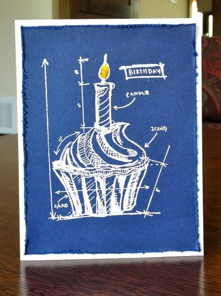 36 best cards th birthday blueprint images on pinterest cupcake birthday blueprint by meredythg cards and paper crafts at splitcoaststampers malvernweather Choice Image
