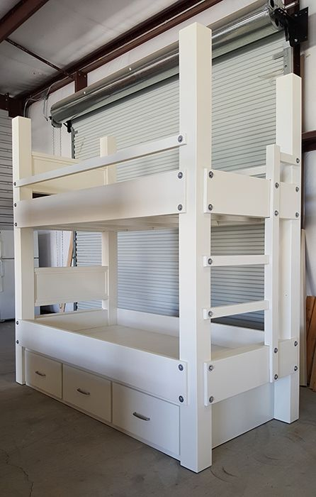 Twin Over Twin Bunk Bed 45 Wide By 89 Long By 94 High Made For 8