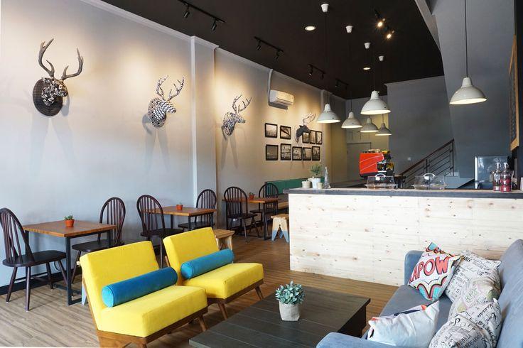 Industrial Design Coffee Shop by Vindo Design