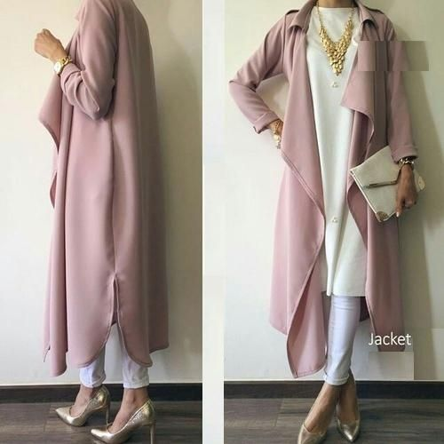 blush pink hijab- Neutral hijab outfit ideas…