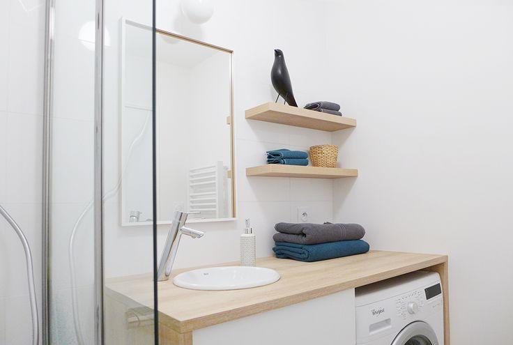 17 meilleures id es propos de tag res de salle de bains - Mini etagere salle de bain ...