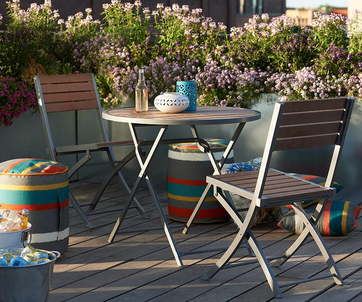 Versatile Patio Pieces For A Small Space